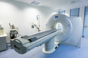Magnetic resonance imaging is a medical imaging technique used in radiology to form pictures of the anatomy